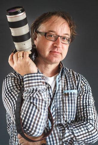 zelfportret Simon van der Woude